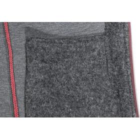 SALEWA Sarner 2 Layer Wool Full-Zip Hoodie Damen paradise pink